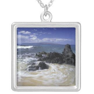 Les Etats-Unis, Hawaï, Maui, Maui, plage de Pendentif Carré