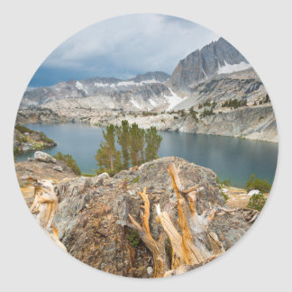 Les Etats-Unis, la Californie, forêt nationale Sticker Rond
