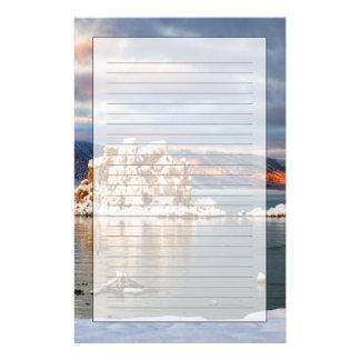 Les Etats-Unis, la Californie, lever de soleil au  Papier À Lettre