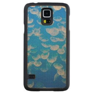 Les Etats-Unis, la Californie. Méduses dans la Coque Slim Galaxy S5 En Érable