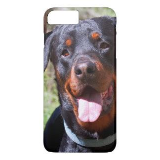 Les Etats-Unis, la Californie. Rottweiler par un Coque iPhone 7 Plus