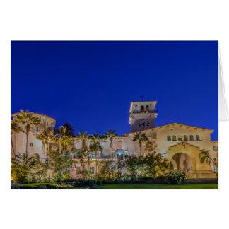 Les Etats-Unis, la Californie, Santa Barbara Carte De Vœux