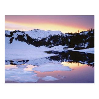 Les Etats-Unis, la Californie, sierra montagnes de Carte Postale