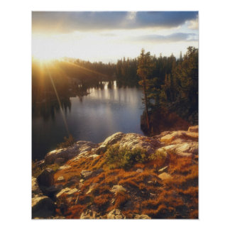Les Etats-Unis, la Californie, sierra montagnes de Posters