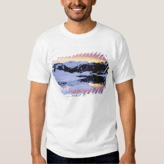 Les Etats-Unis, la Californie, sierra montagnes de T-shirts