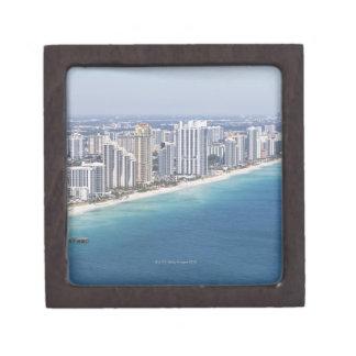 Les Etats-Unis, la Floride, Miami, paysage urbain  Boîtes À Souvenirs De Première Qualité
