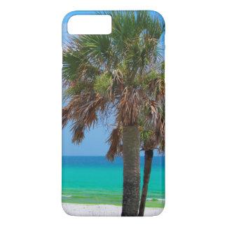 Les Etats-Unis, la Floride. Palmiers sur la côte Coque iPhone 7 Plus