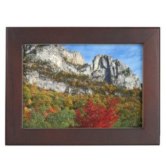 Les Etats-Unis, la Virginie Occidentale, roches Boîte À Souvenirs