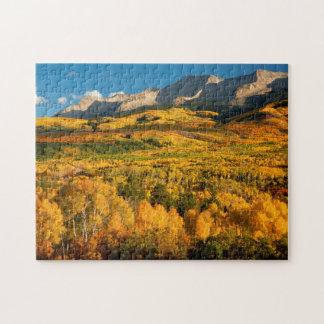Les Etats-Unis, le Colorado, réserve forestière de Puzzle