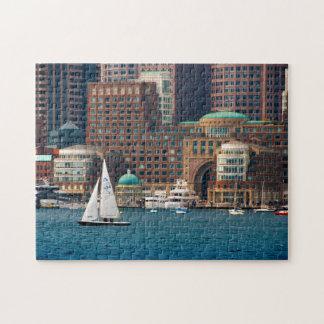 Les Etats-Unis, le Massachusetts. Horizon 2 de Puzzle