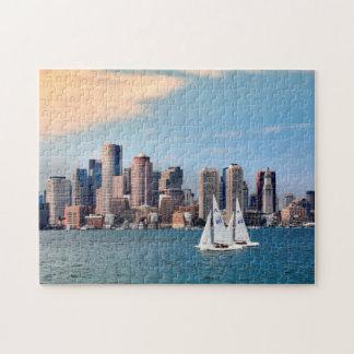 Les Etats-Unis, le Massachusetts. Horizon 3 de Puzzle