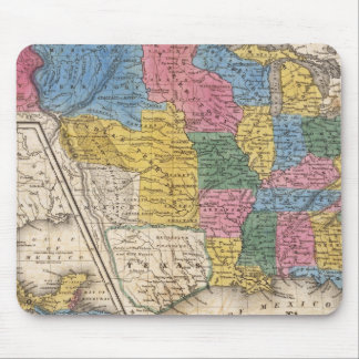 Les Etats-Unis le Texas Mexique et le Guatimala Tapis De Souris