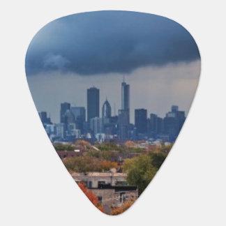 Les Etats-Unis, l'Illinois, Chicago, paysage Onglet De Guitare