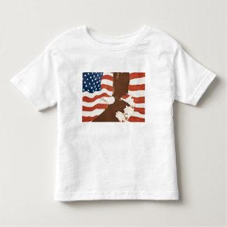 Les Etats-Unis, Louisiane, port Allen. Peinture T-shirt Pour Les Tous Petits