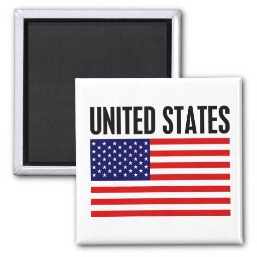 Les Etats-Unis Magnets Pour Réfrigérateur
