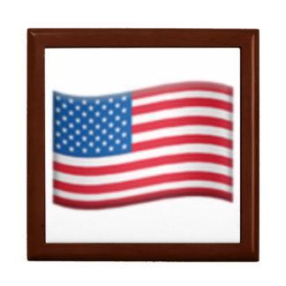 Les Etats-Unis marquent - Emoji Boîte À Souvenirs