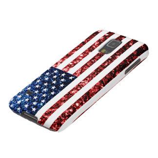 Les Etats-Unis marquent le rouge et le bleu Coque Pour Samsung Galaxy S5