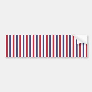 Les Etats-Unis marquent le rouge et marquent les Autocollant De Voiture