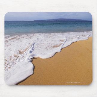 Les Etats-Unis, Maui, Wailea, surf et rivage Tapis De Souris
