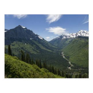 Les Etats-Unis, Montana, parc national de glacier, Carte Postale