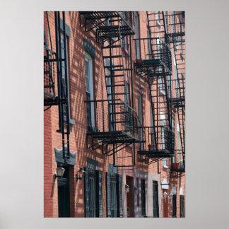Les Etats-Unis, New York, New York City, Brooklyn  Affiche