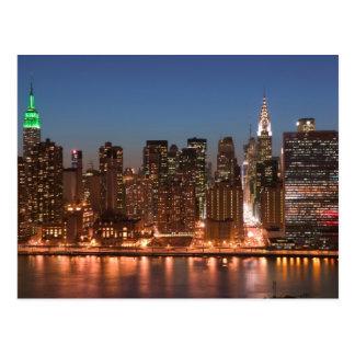 Les Etats-Unis, New York, New York City, Manhattan Cartes Postales