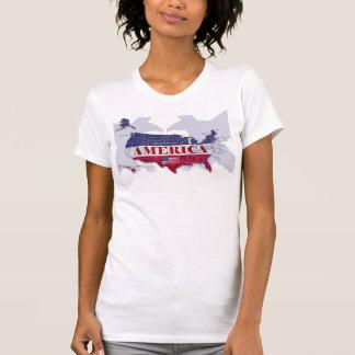 Les Etats-Unis ont appelé States Blue T-shirt