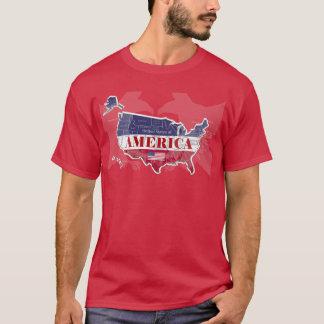 Les Etats-Unis ont appelé States T-shirt d'Eagle