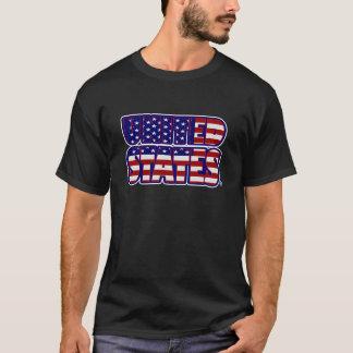 Les Etats-Unis ont exprimé le T-shirt des hommes