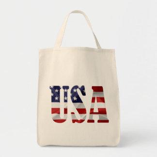 Les Etats-Unis patriotiques Tote Bag