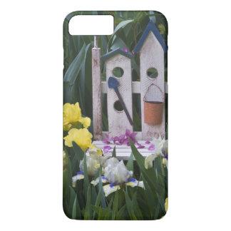 Les Etats-Unis, Pennsylvanie. Les iris de jardin Coque iPhone 8 Plus/7 Plus