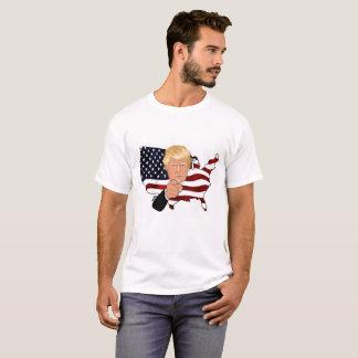 Les Etats-Unis pour le T-shirt de base des hommes