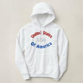Les Etats-Unis Sweat-shirt À Capuche