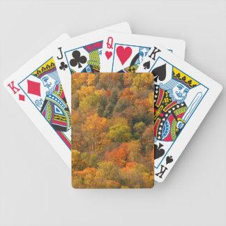 Les Etats-Unis, Tennessee. Feuillage d'automne 2 Jeux De Cartes