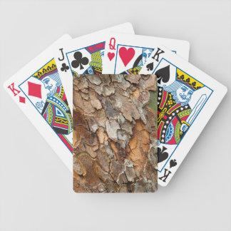 Les Etats-Unis, Tennessee, fin d'écorce sur un Jeu De Poker