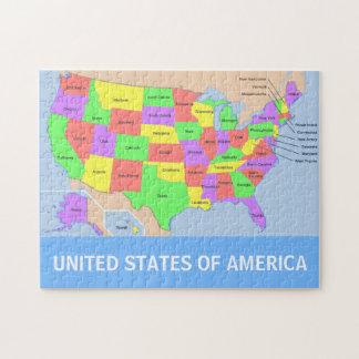 Les Etats-Unis tracent le puzzle de photo