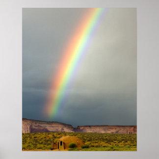 Les Etats-Unis, Utah, parc de tribal de Navajo de  Posters