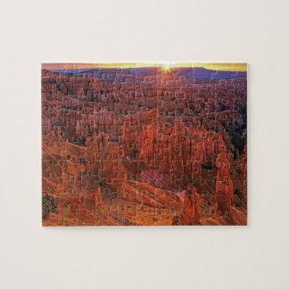Les Etats-Unis, Utah, parc national de canyon de B Puzzles
