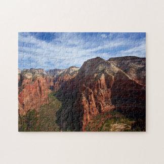 Les Etats-Unis, Utah, parc national de Zion Puzzle