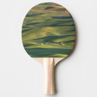 Les Etats-Unis, WA, Whitman Cie., champs de ferme Raquette De Ping Pong