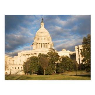 Les Etats-Unis, Washington DC, bâtiment de capitol Carte Postale
