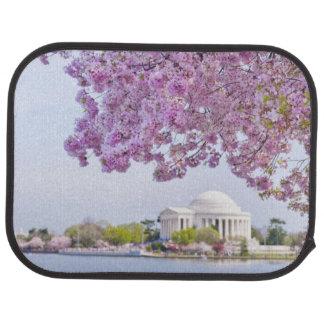 Les Etats-Unis, Washington DC, cerisier en fleur Tapis De Sol