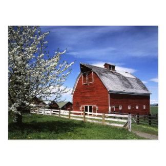 Les Etats-Unis, Washington, Ellensburg, grange Carte Postale