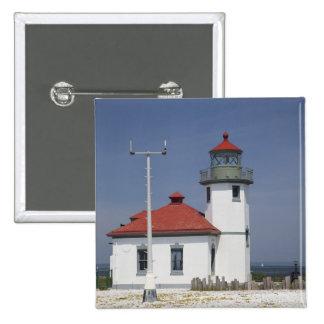 Les Etats-Unis, Washington, Seattle, phare de poin Badge