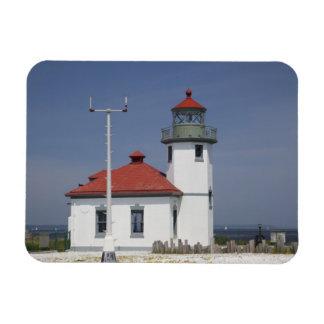 Les Etats-Unis, Washington, Seattle, phare de poin Magnets En Vinyle