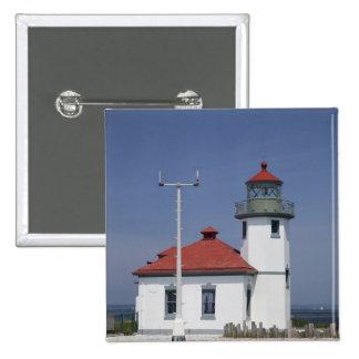 Les Etats-Unis, Washington, Seattle, phare de poin Pin's