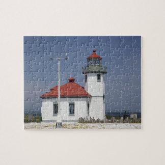 Les Etats-Unis, Washington, Seattle, phare de poin Puzzle