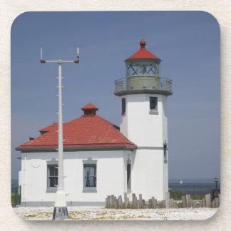 Les Etats-Unis, Washington, Seattle, phare de poin Sous-bocks