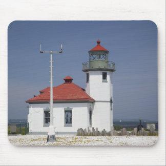 Les Etats-Unis, Washington, Seattle, phare de poin Tapis De Souris
