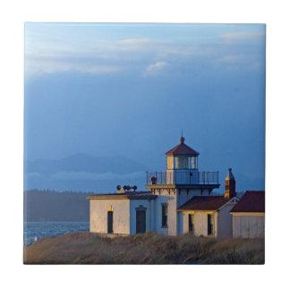 Les Etats-Unis, Washington, Seattle, Puget Sound Carreau